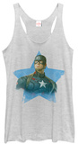 Juniors Tank Top: Captain America- Star Spangled T-shirts