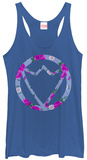 Juniors Tank Top: Avengers- Floral Falcon Logo T-shirts