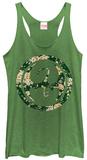 Juniors Tank Top: Iron Fist- Floral Dragon Tričko