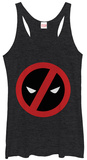 Juniors Tank Top: Deadpool- A Simple No T-shirts