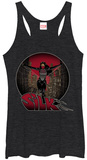 Juniors Tank Top: Spiderman- Silk Womens Tank Tops