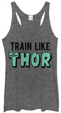 Juniors Tank Top: Thor- In Training Shirts