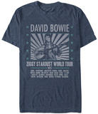 David Bowie- Ziggy World Tour '72 (Premium) T-shirts