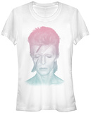Juniors: David Bowie- Stardust Gradient Shirt