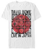 David Bowie- Live In Japan T-Shirt