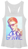 Juniors Tank Top: David Bowie- Slick Chromatic T-Shirt
