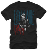 David Bowie- Live London 1972 T-shirts