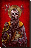 Saint of the Sinner Stretched Canvas Print by David Lozeau