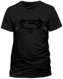 Batman vs. Superman- Shadow Movie Logo T-Shirt