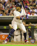Eddie Rosario 2015 Action Photo