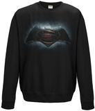 Crewneck Sweatshirt: Batman vs. Superman - Backlit Movie Logo T-Shirts
