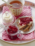 Home-Made Plum Jam Photographic Print by  Eising Studio - Food Photo and Video