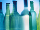 Assorted Wine Bottle Shadows Photographic Print by Ulrike Koeb