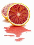 Blood Orange, Halved Photographic Print by Shawn Hempel