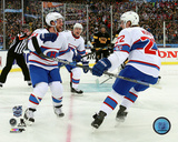 David Desharnais & Dale Weise 2016 NHL Winter Classic Photo