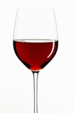 A Glass of Red Wine Photographic Print by Peter Rees