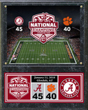 Alabama Crimson Tide 2015 National Champions Plaque Wall Sign
