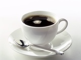 Black Coffee in a White Cup Photographic Print by Klaus Arras