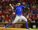Marco Estrada Game 3 of the 2015 American League Division Series Photo