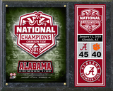 Alabama Crimson Tide 2015 National Champions Team Logo Plaque Wall Sign