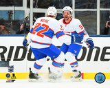 Dale Weise & David Desharnais 2016 NHL Winter Classic Photo