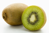 Half and Whole Kiwi Fruit Photographic Print by Greg Elms