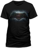 Batman vs. Superman- Backlit Movie Logo (slim fit) T-Shirts