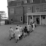 Hill Hall, a Women's Open Prison - 1957 Photographic Print by Ken Russell
