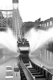 Battersea Funfair - 1955 Photographic Print by Ken Russell