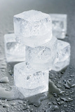 Several Ice Cubes Photographic Print by  Kröger and Gross
