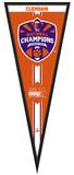 Clemson Tigers 2015 National Champions Pennant Frame Framed Memorabilia