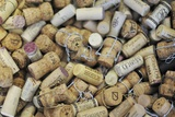 Used Wine and Champagne Corks Photographic Print by Yehia Asem El Alaily