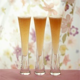 Three Glasses of Bellini (Sparkling Wine with Peach Juice) Photographic Print by Michael Paul
