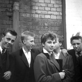 The Last of the Teddy Girls - 1955 Photographic Print by Ken Russell