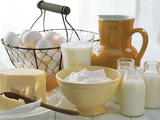 Dairy Still Life with Eggs Photographic Print by  Eising Studio - Food Photo and Video
