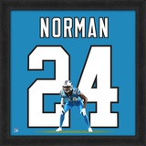 Josh Norman, Carolina Panthers - Framed Photographic Representation Of The Player's Jersey Framed Memorabilia