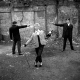 The Last of the Teddy Girls - 1955 Reproduction photographique par Ken Russell