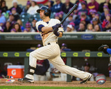 Brian Dozier 2015 Action Photo
