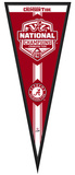 Alabama Crimson Tide 2015 National Champions Pennant Frame Framed Memorabilia