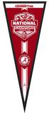 Alabama Crimson Tide 2015 National Champions Pennant Frame Framed Memorabilia