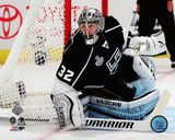 Jonathan Quick Game 1 of the 2014 Stanley Cup Finals Action Photo