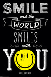Smiley- World Smiles With You Posters
