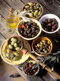 Olives in Bowls Photographic Print by Martina Urban