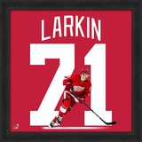 NHL Dylan Larkin, Detroit Red Wings - Framed Photographic Representation Of The Player's Jersey Framed Memorabilia