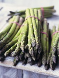 Green Asparagus Photographic Print by Philip Webb