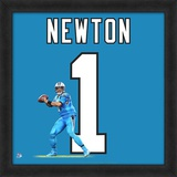 Cam Newton, Carolina Panthers - Framed Photographic Representation Of The Player's Jersey Framed Memorabilia