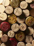 Wine Corks from France Photographic Print by Claude Prigent