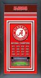 Alabama Crimson Tide 2015 National Champions Framed Championship Banner Framed Memorabilia