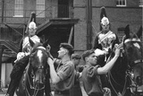 Spit and Polish - Horse Guards in Whitehall Premium Photographic Print by Ken Russell