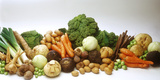Various Types of Root Vegetables, Cabbages and Leeks Photographic Print by  Eising Studio - Food Photo and Video